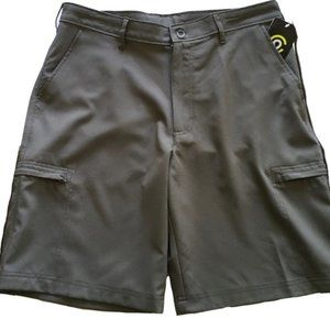 NEW Champion Water Resistant Cargo Shorts Gray 30W